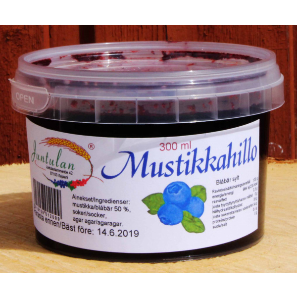 MUSTIKKAHILLO 300g
